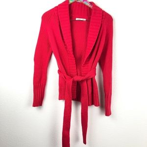 red Old Navy cardigan size XS